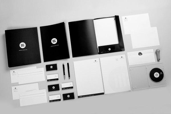 Corporate Branding Examples - Marcin Gynbek
