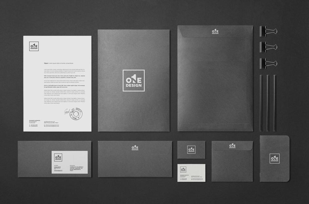 Corporate Brand Identity - One Design