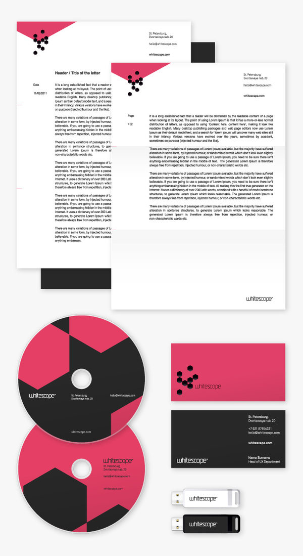 Corporate Branding Examples - Whitescape