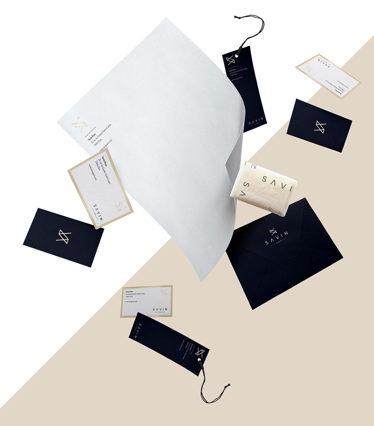 Corporate Branding Package - Savin Paris
