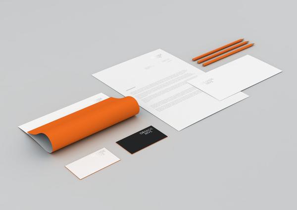 Corporate Branding Examples - Orange Hive