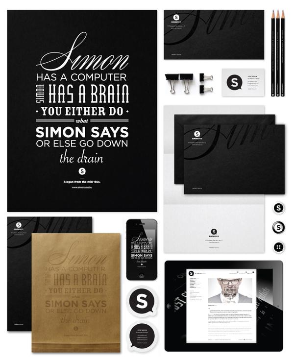 Corporate Identity Branding - Simon Says