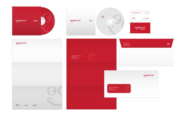 Corporate Brand Identity - FoodieCard