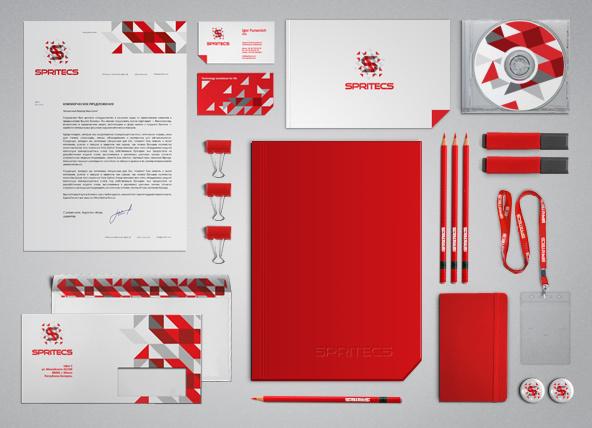 Corporate Branding Identity - Spritecs