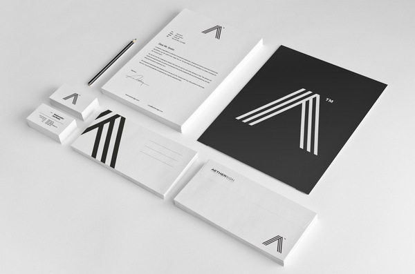 Corporate Identity Design - Aether