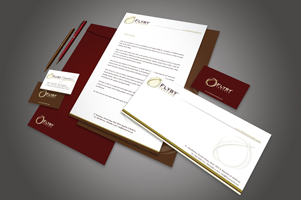 Corporate Identity Brand - Flyby Travels