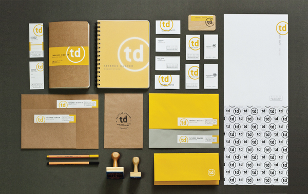 Corporate Identity Branding - Tavares Duayer Arquitetura
