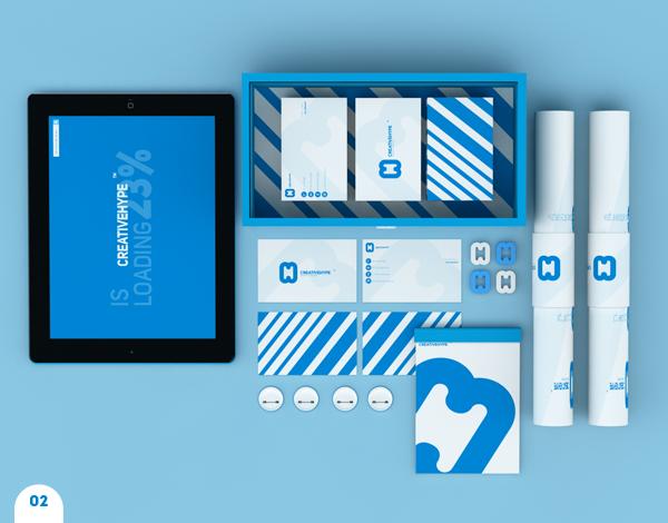 Corporate Identity Examples - CREATIVEHYPE