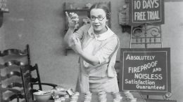 Old photo of dentist doing her practice