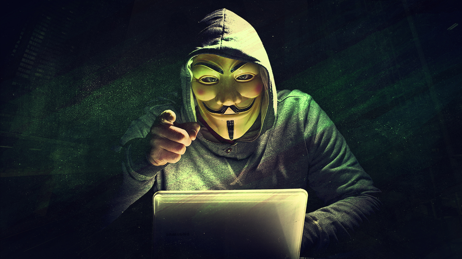 Anonymous member hacking
