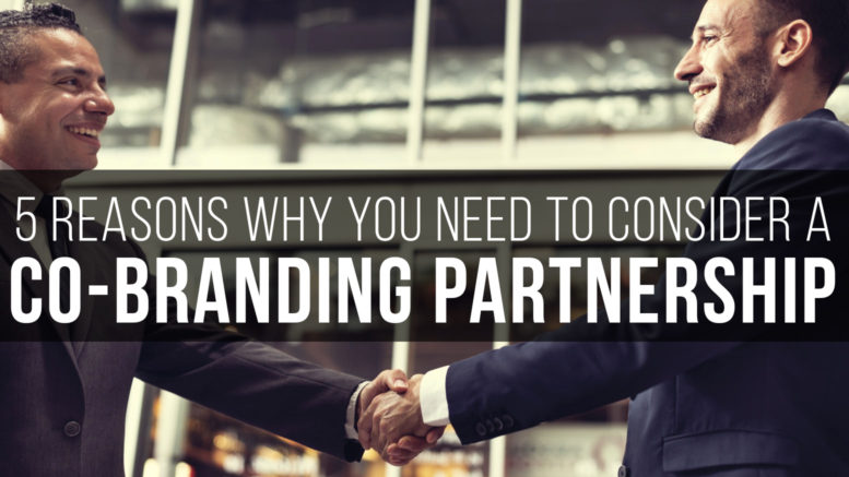 Essential reasons for co-branding partnership
