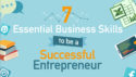 7 Essential Business Skills to be a Successful Entrepreneur [Infographic]