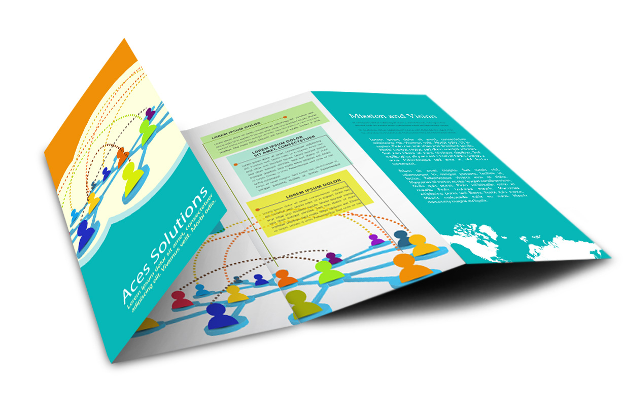 double parallel brochure fold