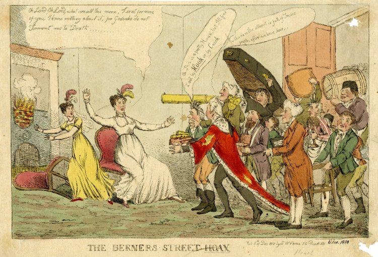 Berners Street Hoax caricature