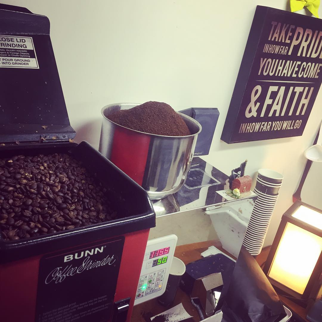 Legendary Coffee grinder equipment