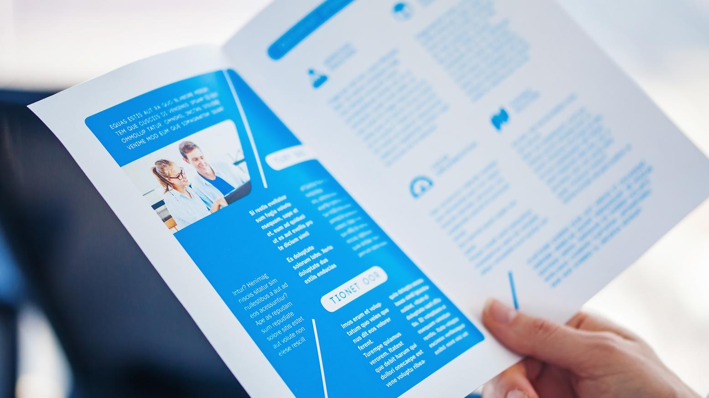 Brochure Paper Weight
