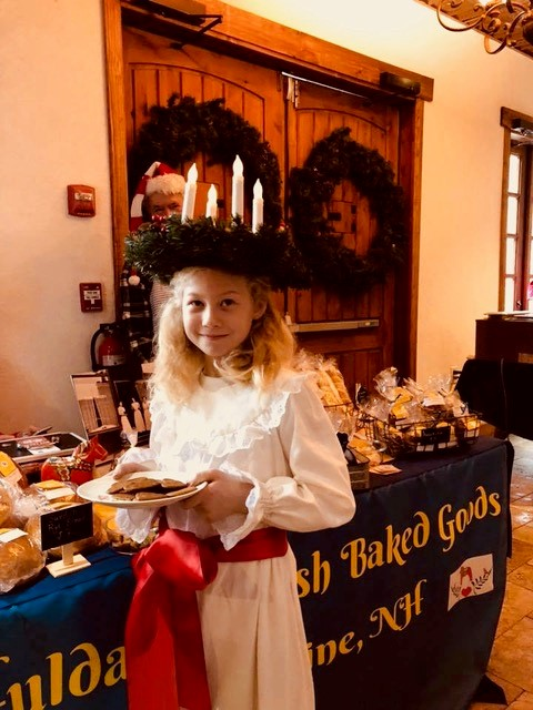 hulda's swedish baked goods christmas event