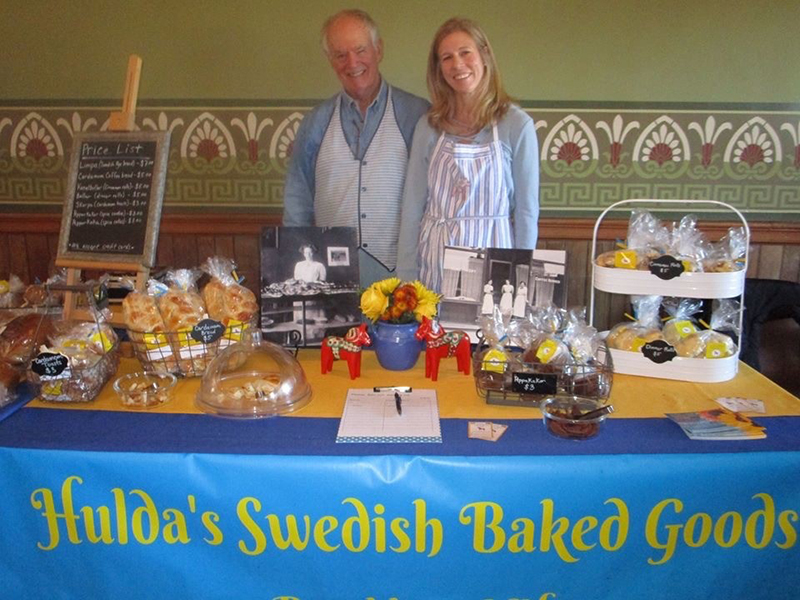 David and Jenny, bakers of Hulda's Swedish Baked Goods