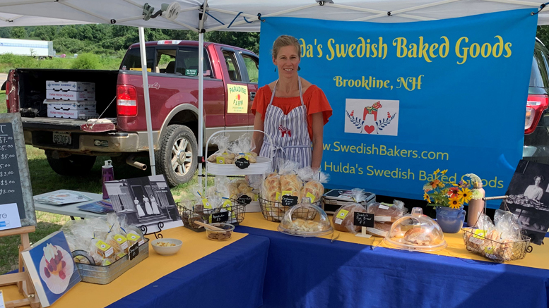Jenny Lewis-Hulda's Swedish Baked Goods at farmers market