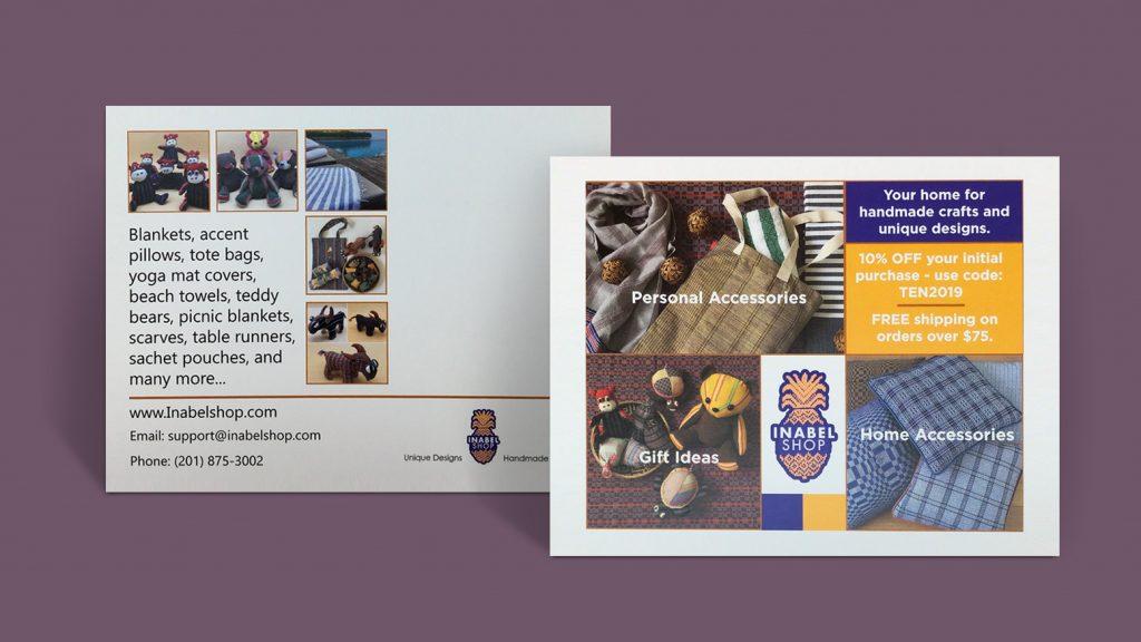 inabel shop custom postcards