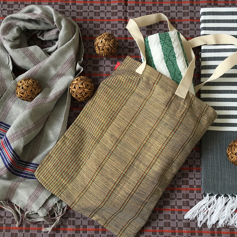 Bag, scarves, personal Inabel products