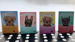 paw books inspiration postcards