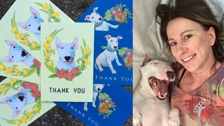 Jindra Noewi artist thank you cards