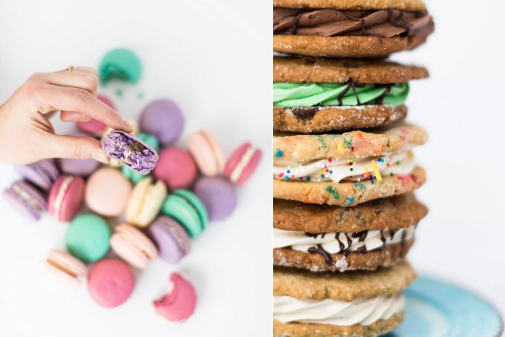 Amy's French macarons and cookie sammiches