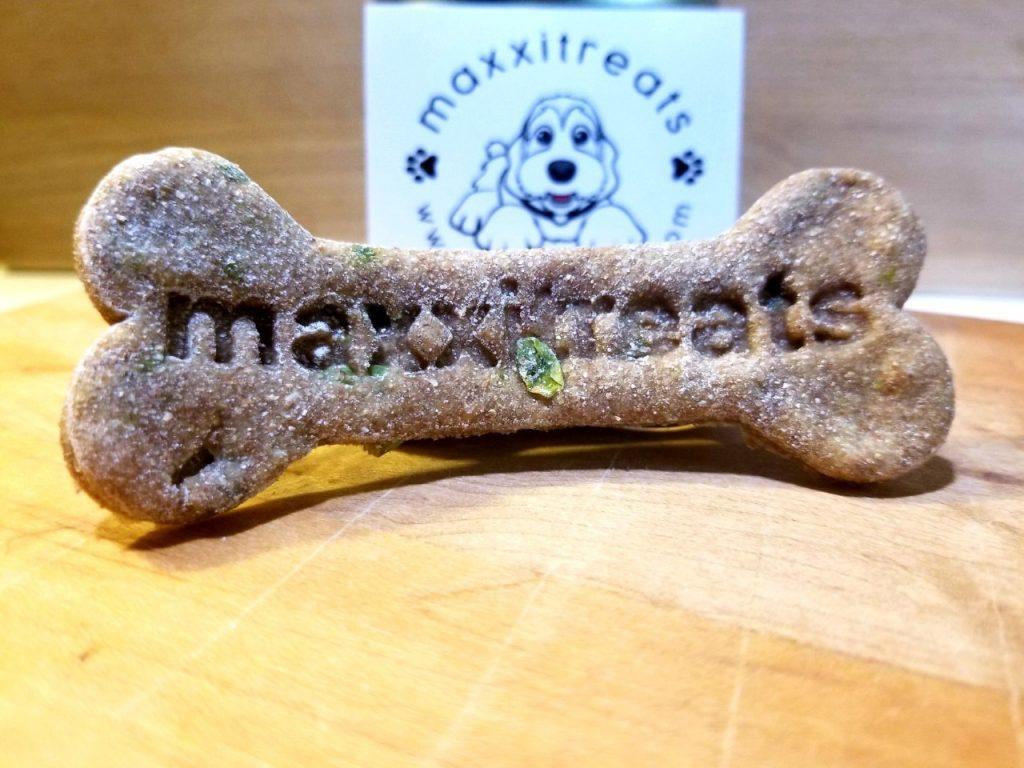Maxxitreats Large Bone Salmon flavor