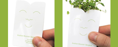 Growing Business Card