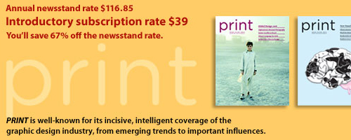 Subscription to PRINT Magazine