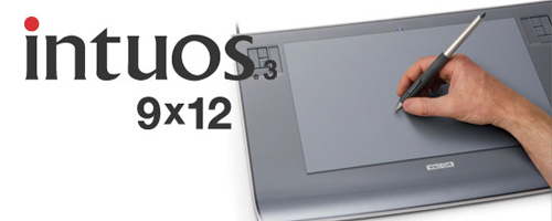 Wacom - Intuos3 Professional Pen Tablet: 9×12