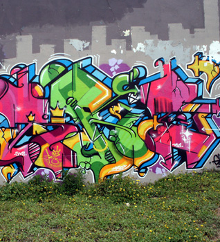 is graffiti art essay