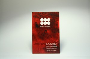 Business Card - Red