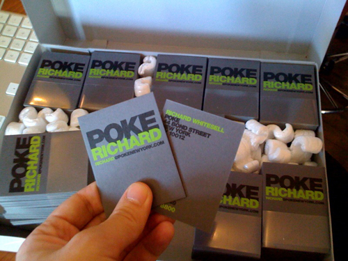 Business Cards - Poke