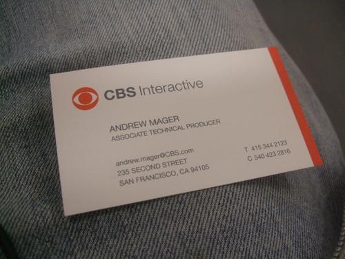 Business Cards - CBS