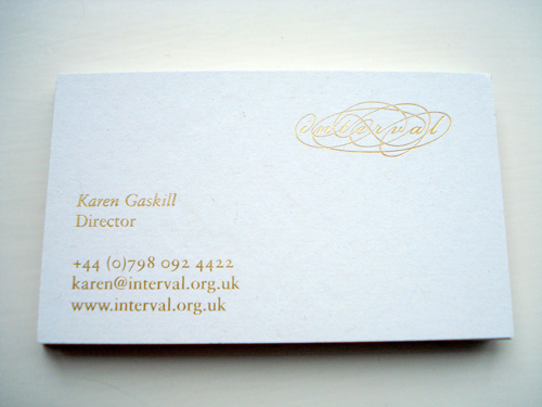 Business Cards - blah