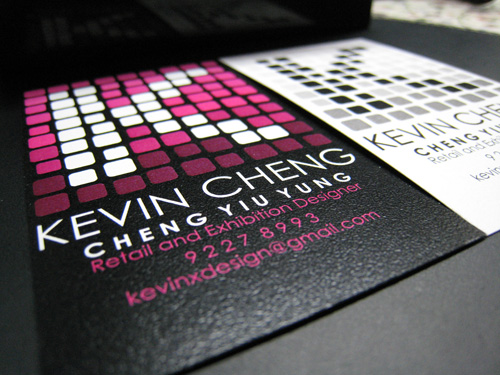 Business Cards - Kevin Cheng