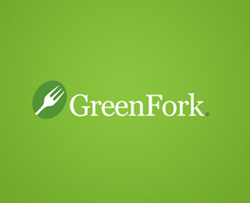 Graphic Logo Designs - Green Fork Cafe