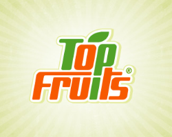 Graphic Logo Designs - Top Fruits