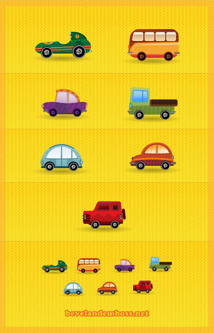 car-icon-set