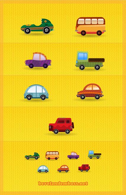 car-icon-set