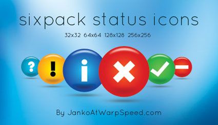 sixpack-status-free-icon-pack