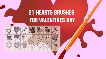 valentine 2010 brushes