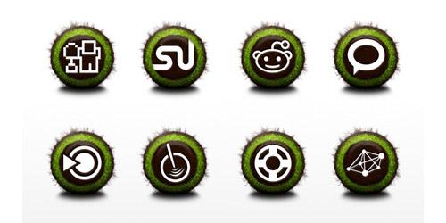 Nurture Social Icon Set