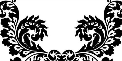 ornamental flourish vector