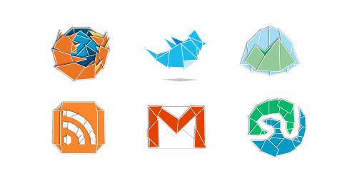 Web 2 0rigami icon