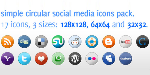Social Media Icons Pack Download