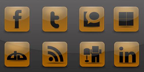 Brown Social Icon