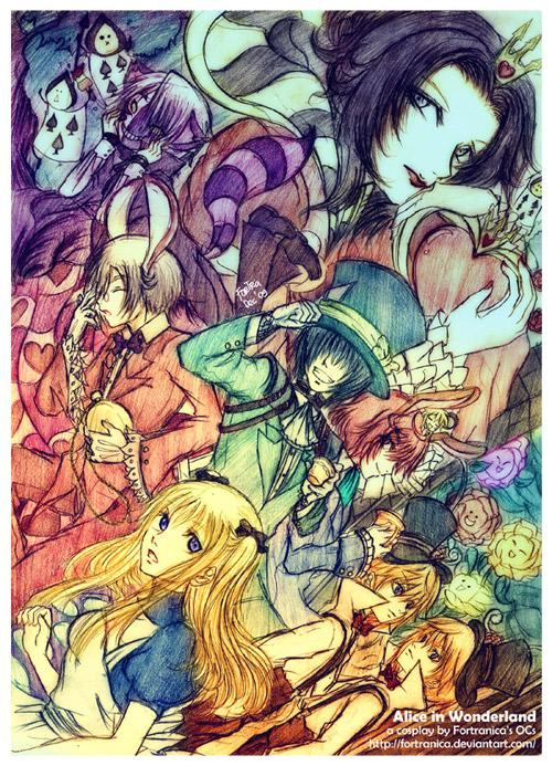 Alice In wonderland cosplay